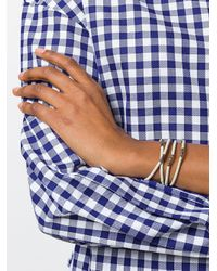 M. Cohen Metallic Multi Strand Beaded Bracelet