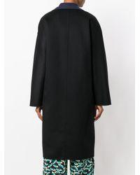 Marni - Black Cocoon Coat - Lyst