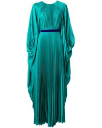 Roksanda ドレープスリーブ ドレス Green