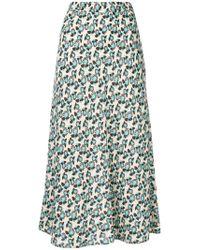 Marni - Multicolor Flower Print A-line Skirt - Lyst