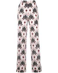 Valentino - Multicolor Love Dagger Trousers - Lyst