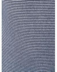 Armani Jeans Blue Striped Sweater