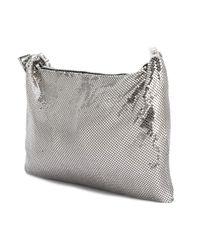 KENZO Metallic Brass Shoulder Bag