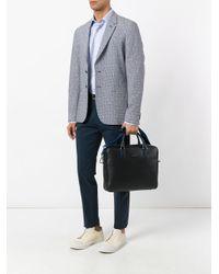 Furla Blue Shoulder Strap Laptop Bag for men