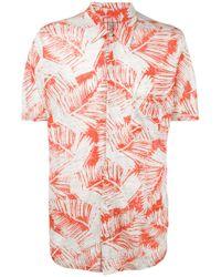 Majestic Filatures | Multicolor Palm Print Shirt for Men | Lyst