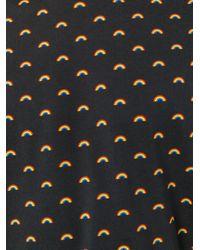 Marc Jacobs - Black Rainbow-print T-shirt for Men - Lyst