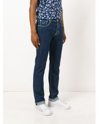 Jacob Cohen - Blue Tailored Slim Fit Jeans for Men - Lyst