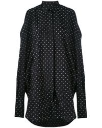 Henrik Vibskov | Black 'bumble' Shirt Dress | Lyst