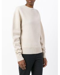 Céline Natural - Crew Neck Jumper - Women - Wool - S