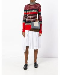 Céline Gray - Bi-colour Crossbody Bag - Women - Lamb Skin - One Size