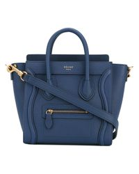 Céline Blue - Phantom Tote - Women - Calf Leather/leather - One Size