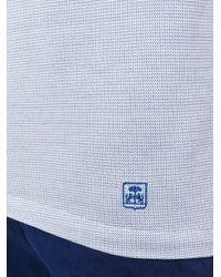 Corneliani - Blue Classic Polo Shirt for Men - Lyst