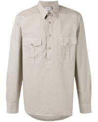Aspesi | Multicolor Half Button Shirt for Men | Lyst