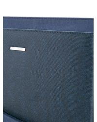 Cerruti 1881 Blue Front Pocket Satchel for men