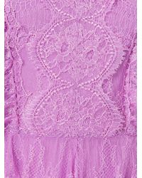 Maria Lucia Hohan - Purple 'mousseline' Midi Dress - Lyst