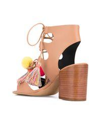 Rebecca Minkoff - Multicolor 'calissa' Heeled Sandal - Lyst