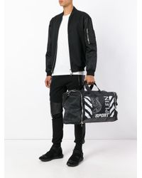 Philipp Plein - Black Printed Holdall for Men - Lyst