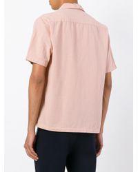 Cmmn Swdn - Pink Short-sleeve Shirt for Men - Lyst