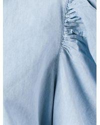 Marques'Almeida - Blue Puff Sleeve Chambray Shirt - Lyst