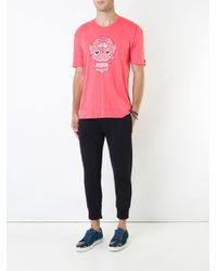 Guild Prime | Pink Skull Graphic T-shirt for Men | Lyst
