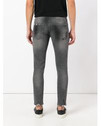 Pence Gray Tosco Jeans for men