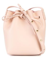 Mansur Gavriel - Pink Drawstring Bucket Bag - Lyst