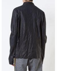 Ma+ Black Plain Shirt for men