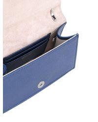 Jimmy Choo Blue Star Studded Floria Bag