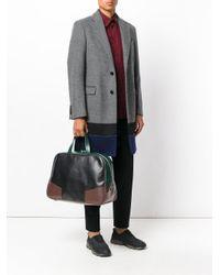 Marni - Black Colour Block Travel Bag for Men - Lyst