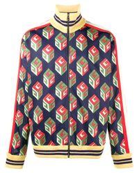 Gucci | Multicolor 'wallpaper' Technical Jacket for Men | Lyst