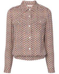 Tory Burch Multicolor Allegra Paisley Printed Shirt