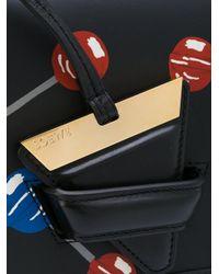 Loewe Black 'barcelona' Lollipops Bag