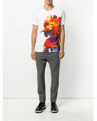 Henrik Vibskov   White Inky Rainbow T-shirt for Men   Lyst