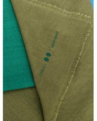 ODEEH | Green Blockcolour Scarf | Lyst