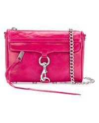 Rebecca Minkoff | Pink Mini Mac Crossbody Bag | Lyst