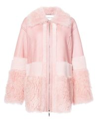Prabal Gurung | Pink Zipped Coat | Lyst