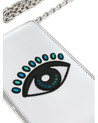 KENZO - Gray Eye Phone Holder - Lyst