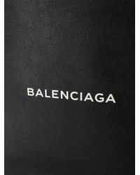 Balenciaga | Black North-south Large Shopper Tote for Men | Lyst
