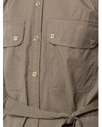 Trina Turk   Green Cargo Shirt Dress   Lyst