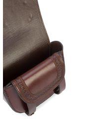 Ulla Johnson - Brown Embellished Shoulder Bag - Lyst