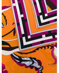 Emilio Pucci - Multicolor Printed Scarf - Lyst
