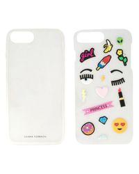 Chiara Ferragni Multicolor Iphone 7 Sticker Case