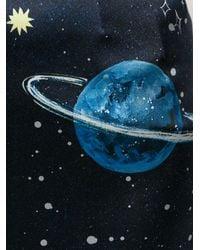 Dolce & Gabbana | Blue Solar System Print Skirt | Lyst