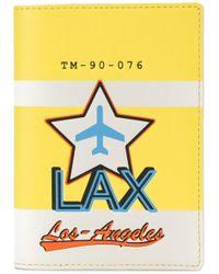 Tila March | Yellow Lax Passport Cover | Lyst