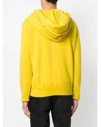 Rick Owens Drkshdw - Yellow Hooded Jacket for Men - Lyst