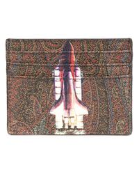 Etro | Multicolor Paisley Rocket Print Card Holder for Men | Lyst