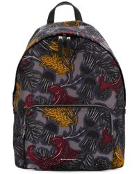 Burberry Blue Fish Print Backpack for men