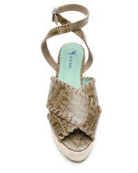 Blue Bird Shoes Cruzada エスパドリーユ Gray