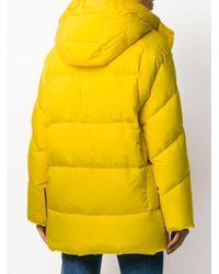 Woolrich Aurora ダウンコート Yellow