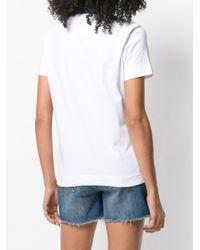 Tommy Hilfiger White T-Shirt mit rundem Ausschnitt